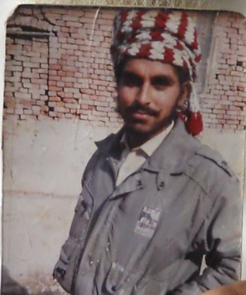 Photo of Jagdip Singh, victim of extrajudicial execution on February 22, 1991, in Jandiala, by Punjab Police