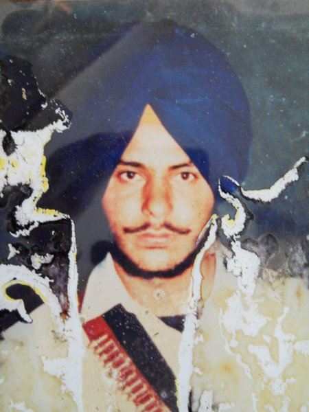 Photo of Ranjit Singh Rana, victim of extrajudicial execution on August 26, 1987, in Bathinda, by Punjab Police