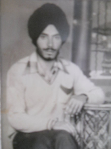 Photo of Harpreet Singh, victim of extrajudicial execution on October 02, 1986, in Tarn Taran, by Punjab Police