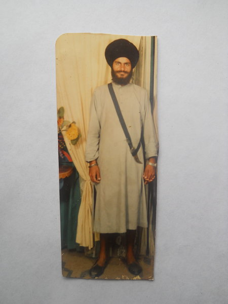Photo of Surjit Singh, victim of extrajudicial execution between September 1, 1986 and October 31,  1986, in Tarn Taran, by Punjab Police