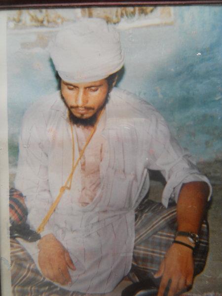 Photo of Harjinder Singh, victim of extrajudicial execution between June 5, 1991 and June 30,  1991, in Sarhali Kalan,  by Punjab Police; Central Reserve Police Force, in Sarhali Kalan, Tarn Taran, by Punjab Police