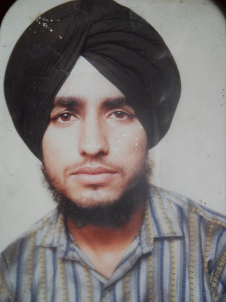 Photo of Tarsem Singh, victim of extrajudicial execution between August 25, 1991 and November 30,  1991Punjab Police; Central Reserve Police Force