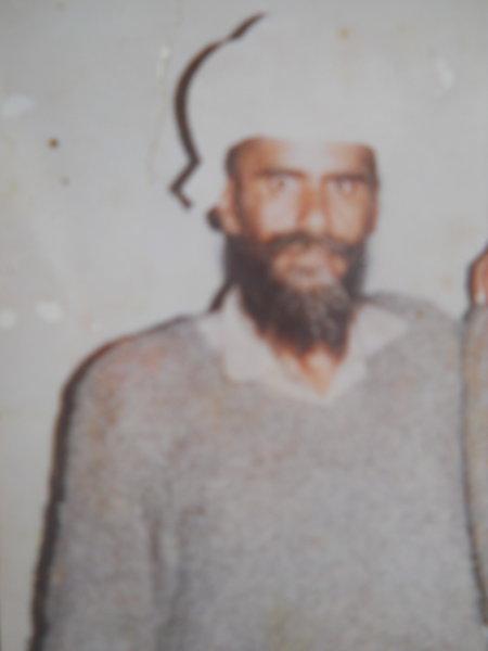 Photo of Balkar Singh, victim of extrajudicial execution between April 10, 1991 and May 10,  1991Punjab Police