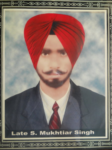 Photo of Mukhtiar Singh,  disappeared, date unknown, in Verowal,  by Punjab Police