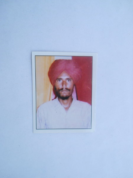 Photo of Sahib Singh,  disappeared between June 1, 1993 and December 31,  1993, in Kapurthala,  by Punjab Police; Border Security Force