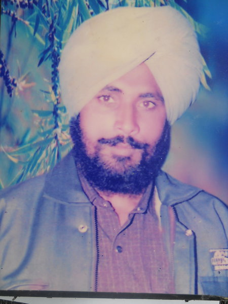 Photo of Amrik Singh,  disappeared on January 01, 1993, in Kathu Nangal,  by Punjab Police