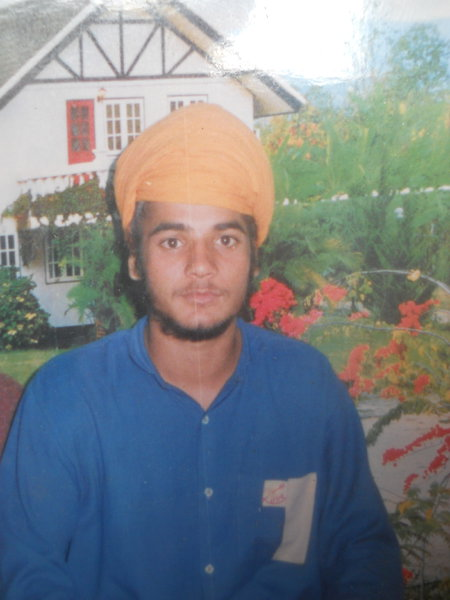 Photo of Dalbir Singh, victim of extrajudicial execution between January 10, 1993 and January 15,  1993, in Sri Hargobindpur, by Punjab Police