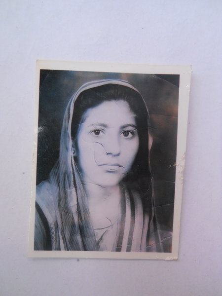 Photo of Kawaljit Kaur, victim of extrajudicial execution between February 1, 1992 and February 29,  1992, in Beas, by Punjab Police; Central Reserve Police Force