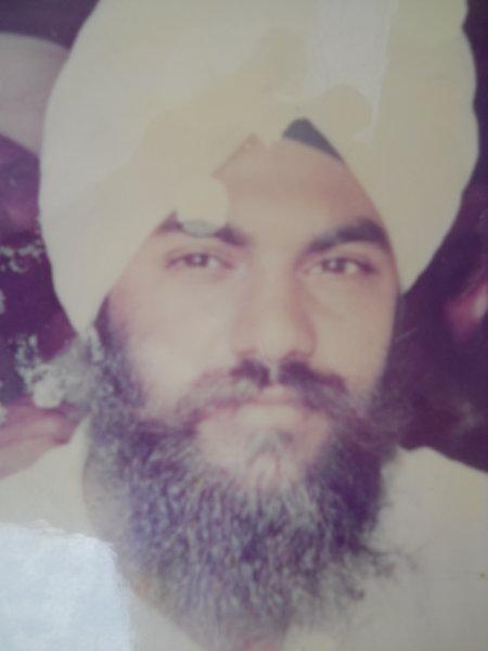 Photo of Saab Singh,  disappeared on April 12, 1992, in Tarn Taran,  by Punjab Police