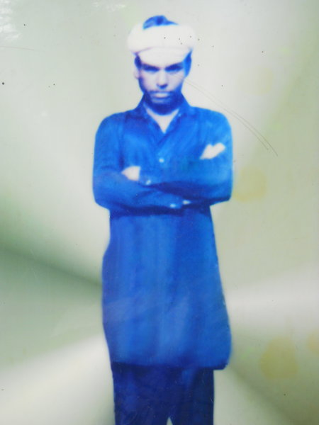 Photo of Manjit Singh, victim of extrajudicial execution between September 5, 1992 and September 8,  1992, in Jhabal Kalan, by Punjab Police