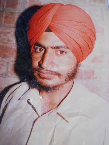 Photo of Jagir Singh, victim of extrajudicial execution on May 25, 1991, in Kathu Nangal, by Punjab Police