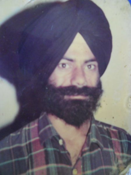 Photo of Narinder Singh, victim of extrajudicial execution on October 09, 1991, in Ajnala, by Punjab Police