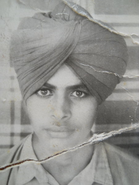 Photo of Balbir Singh, victim of extrajudicial execution between January 15, 1992 and January 16,  1992, in Patti, by Punjab Police