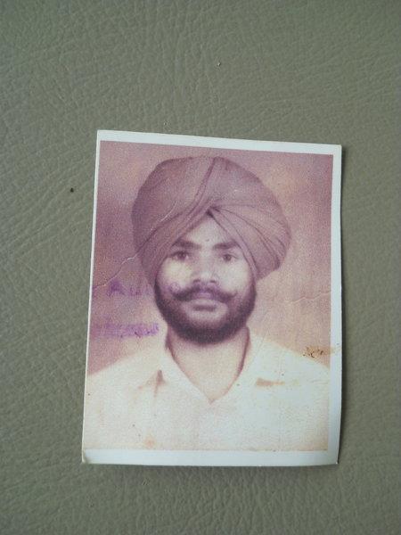 Photo of Jagir Singh, victim of extrajudicial execution on April 21, 1991Punjab Police