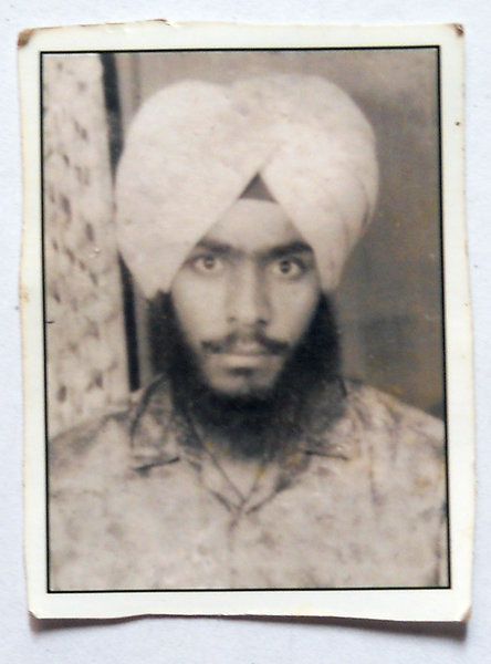 Photo of Lakhwinder Singh, victim of extrajudicial execution, date unknownUnknown type of security forces