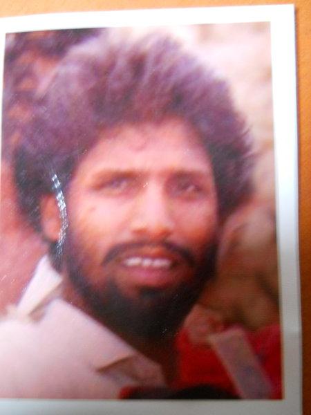Photo of Harjinder Singh, victim of extrajudicial execution on July 22, 1993, in Tarn Taran, by Punjab Police