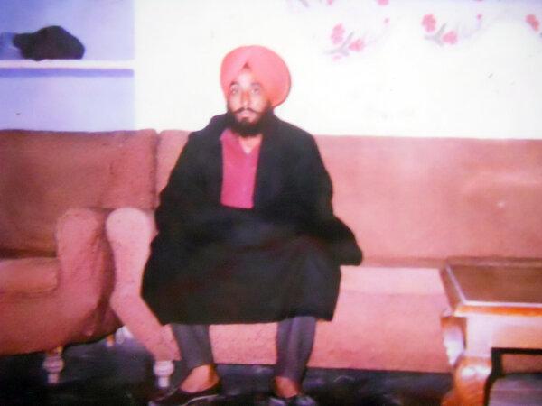 Photo of Davinder Singh, victim of extrajudicial execution on April 24, 1992, in Raja Sansi, by Punjab Police