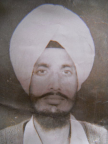 Photo of Kuldeep Singh, victim of extrajudicial execution on March 23, 1991, in Amritsar, by Punjab Police