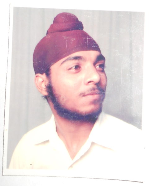 Photo of Kawaljit Singh, victim of extrajudicial execution on February 14, 1991 by Central Reserve Police Force, in Amritsar, by Punjab Police