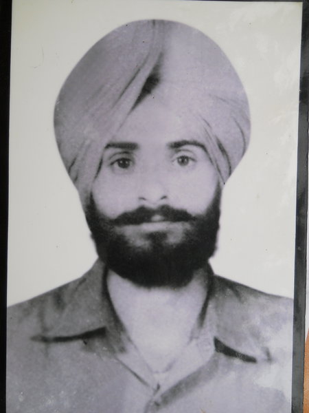 Photo of Natha Singh, victim of extrajudicial execution on November 24, 1991, in Harike,  by Unknown type of security forces, in Harike, by Punjab Police