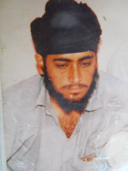 Photo of Mehal Singh, victim of extrajudicial execution on October 15, 1989, in Batala,  by Punjab Police; Border Security Force, in Batala, by Punjab Police; Border Security Force