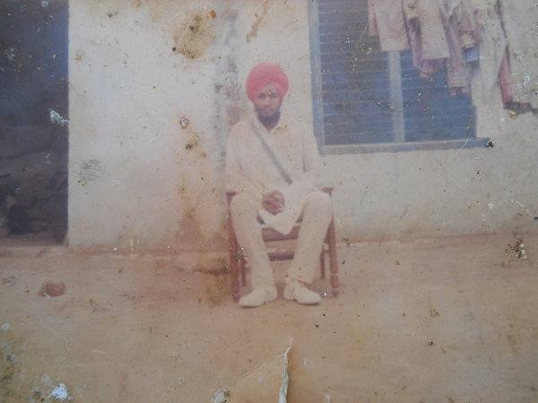 Photo of Gurnam Singh, victim of extrajudicial execution on September 18, 1993, in Patti, by Punjab Police