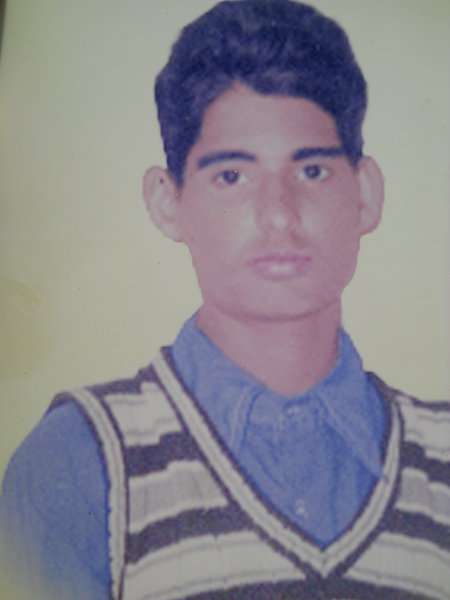 Photo of Jasbir Singh, victim of extrajudicial execution, date unknown, in Ludhiana, by Punjab Police