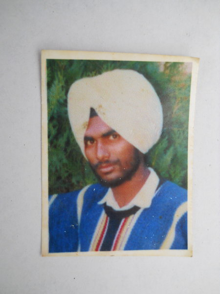 Photo of Malkit Singh, victim of extrajudicial execution on April 4, 1989, in Jagraon, by Punjab Police