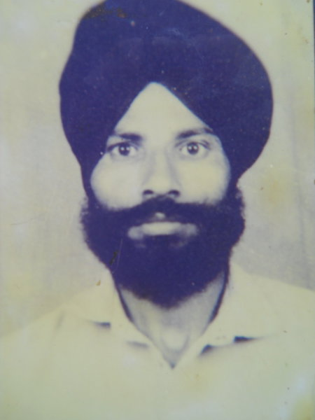 Photo of Gurdip Singh,  disappeared on November 5, 1993, in Jhabal Kalan,  by Punjab Police; Central Reserve Police Force