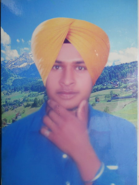 Photo of Mangal Singh, victim of extrajudicial execution on April 16, 1992, in Patti, by Punjab Police