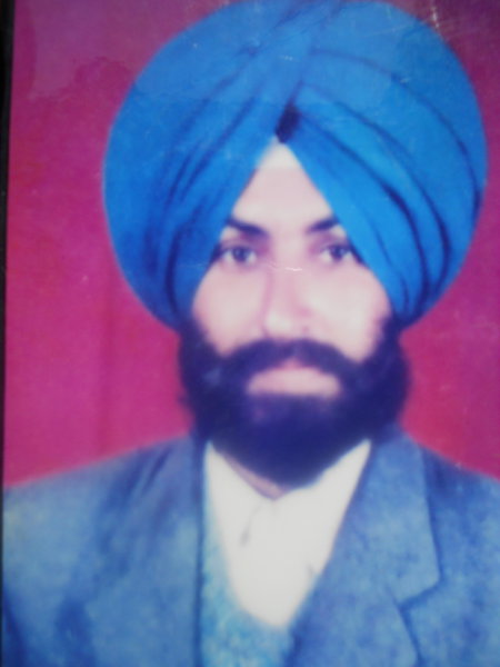 Photo of Sukhdev Singh,  disappeared on November 16, 1992, in Faridkot,  by Punjab Police