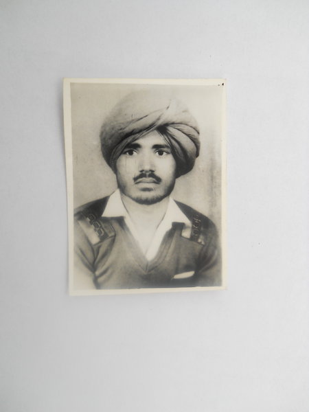 Photo of Sudh Singh, victim of extrajudicial execution between December 10, 1992 and December 31,  1992, in Harike,  by Punjab Police; Central Reserve Police Force, in Harike, by Punjab Police