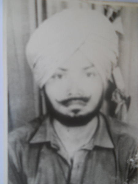 Photo of Dara Singh, victim of extrajudicial execution on October 12, 1990Central Reserve Police Force