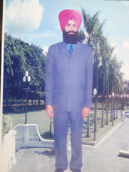 Photo of Harjit Singh, victim of extrajudicial execution on August 04, 1990, in Jhabal Kalan, by Punjab Police