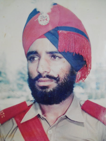 Photo of Kabul Singh, victim of extrajudicial execution on December 24, 1992, in Tarn Taran, by Punjab Police