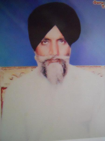 Photo of Santokh Singh, victim of extrajudicial execution on March 27, 1993, in Tarn Taran CIA Staff, by Punjab Police
