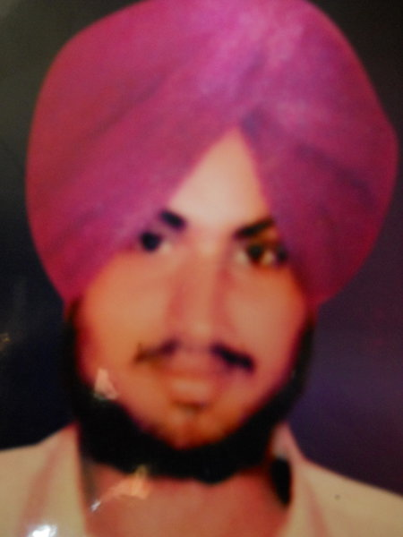 Photo of Sakatar Singh, victim of extrajudicial execution on June 8, 1992, in Tarn Taran, by Punjab Police; Central Reserve Police Force