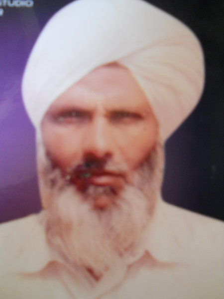 Photo of Niranjan Singh, victim of extrajudicial execution on June 8, 1992, in Tarn Taran, by Punjab Police