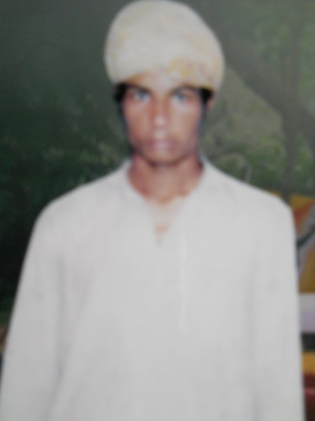 Photo of Lakhwinder Singh, victim of extrajudicial execution on June 8, 1992, in Tarn Taran, by Punjab Police; Central Reserve Police Force