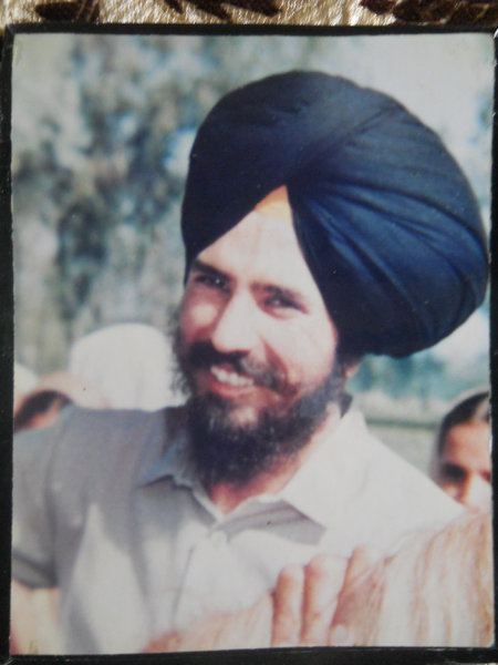 Photo of Surinderpal Singh, victim of extrajudicial execution on April 03, 1991, in Tarn Taran,  by Punjab Police; Central Reserve Police Force, in Tarn Taran, by Punjab Police; Central Reserve Police Force