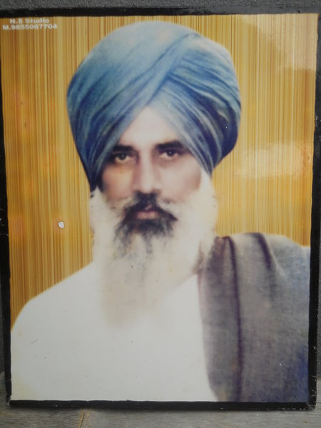 Photo of Gajan Singh,  disappeared on May 20, 1993, in Tarn Taran CIA Staff,  by Punjab Police; Central Reserve Police Force; Criminal Investigation Agency