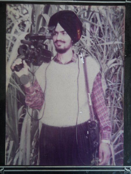 Photo of Inderjeet Singh, victim of extrajudicial execution on December 31, 1991, in Tarn Taran CRPF Camp,  by Central Reserve Police Force, in Tarn Taran, by Punjab Police