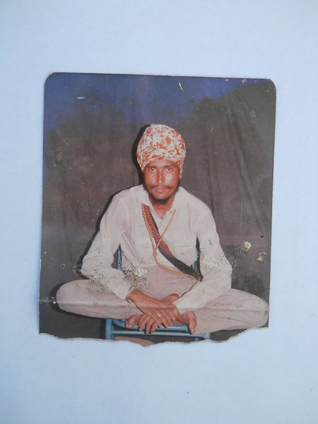 Photo of Jagir Singh, victim of extrajudicial execution between September 22, 1988 and September 24,  1988, in Valtoha, by Punjab Police