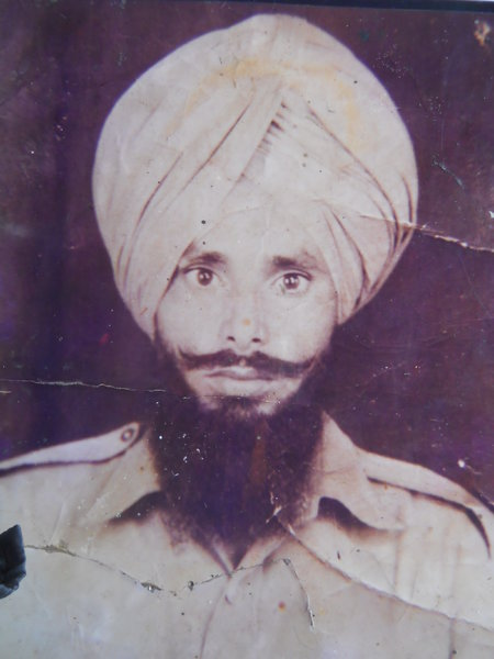 Photo of Darshan Singh, victim of extrajudicial execution on March 25, 1992, in Bulhowal,  by Punjab Police; Central Reserve Police Force, in Bulhowal, by Punjab Police