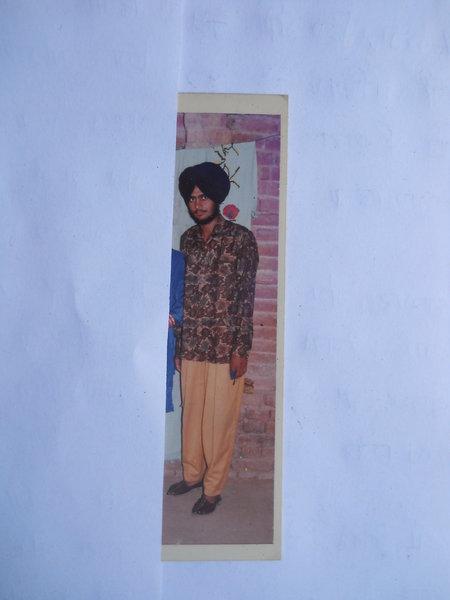 Photo of Jatinder Singh, victim of extrajudicial execution between December 1, 1992 and December 31,  1992, in Valtoha, by Punjab Police