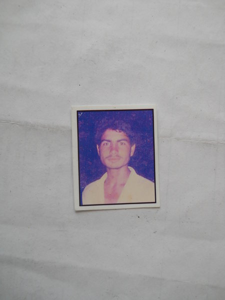 Photo of Balwinder Singh, victim of extrajudicial execution on July 20, 1989Unknown type of security forces