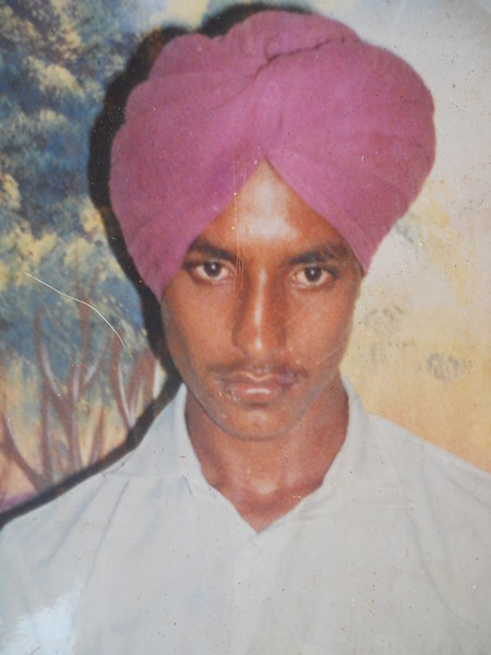 Photo of Baaj Singh, victim of extrajudicial execution on July 01, 1991, in Kot Budha, by Punjab Police