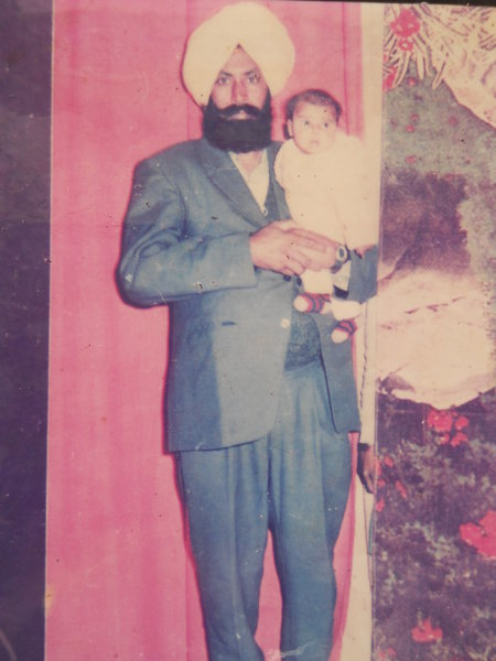 Photo of Gurmej Singh, victim of extrajudicial execution on April 02, 1993, in Bhikhiwind, by Punjab Police