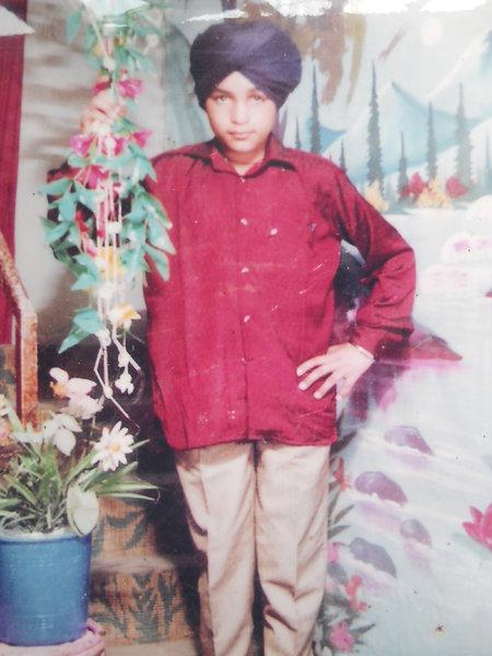 Photo of Ranjit Singh, victim of extrajudicial execution on September 30, 1992, in Kurukshetra