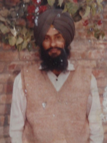 Photo of Lakhbir Singh, victim of extrajudicial execution between March 11, 1991 and March 15,  1991, in Khalra, by Punjab Police